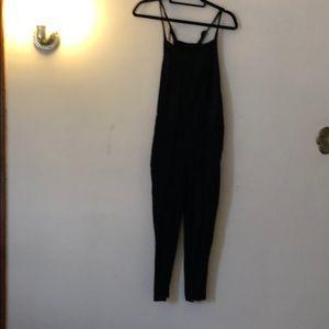 Madewell Black overalls